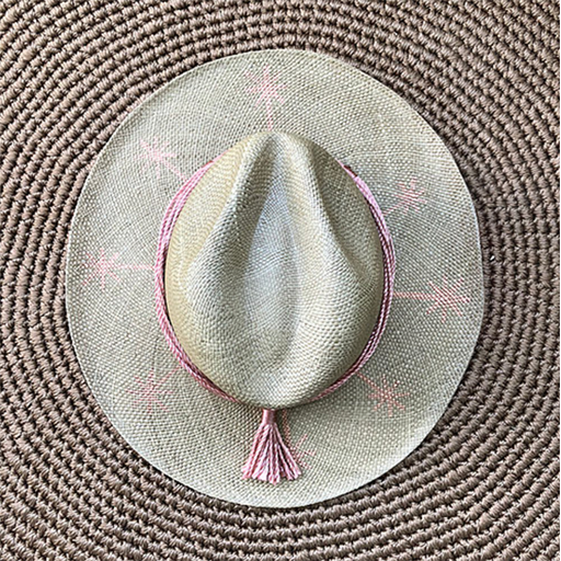 Constelation Hand Painted Hat