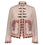 Guadalupe Carola Embroidered Jacket - Pink