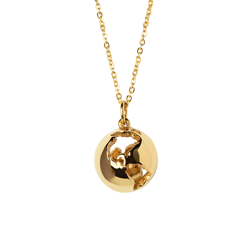 Cristina Ramella World Globe Necklace