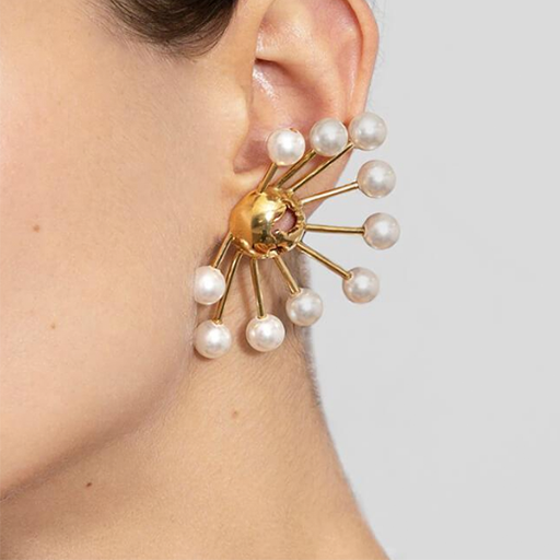 Cristina Ramella Halo Earrings