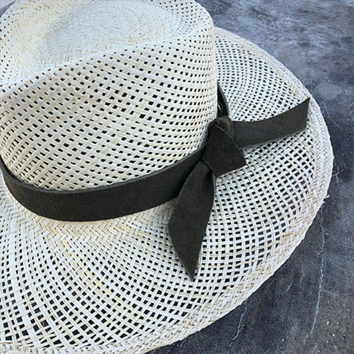 Suede Band Hat