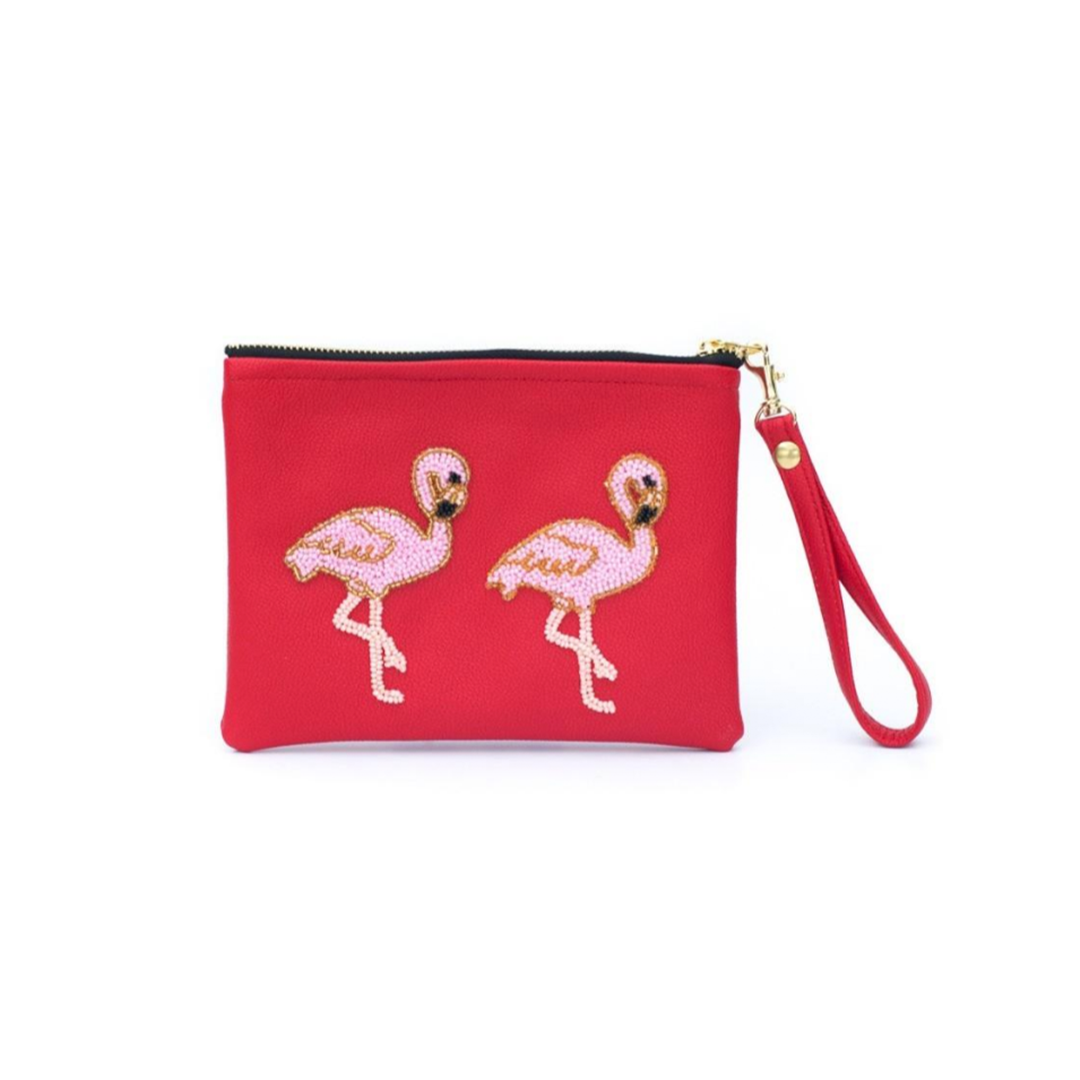 Tea & Tequila Flamingo Pochette