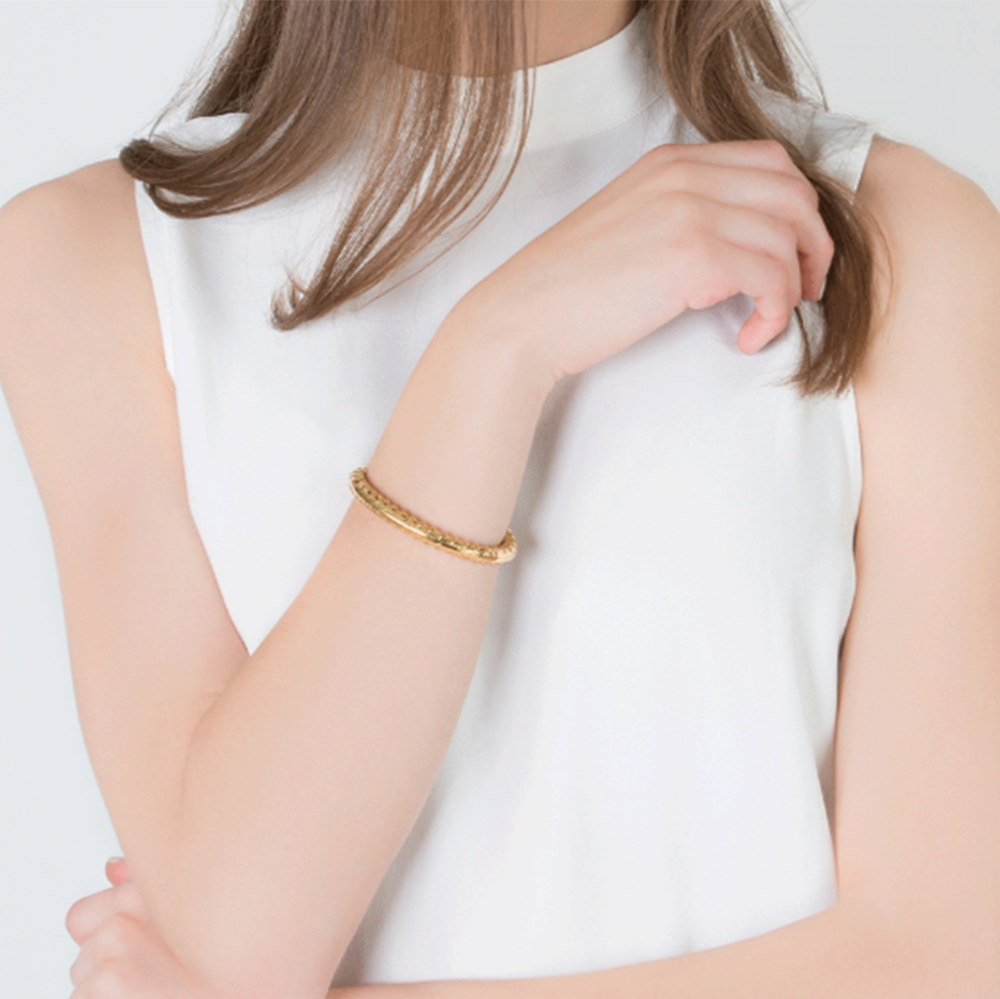 Golden Rod Cuff