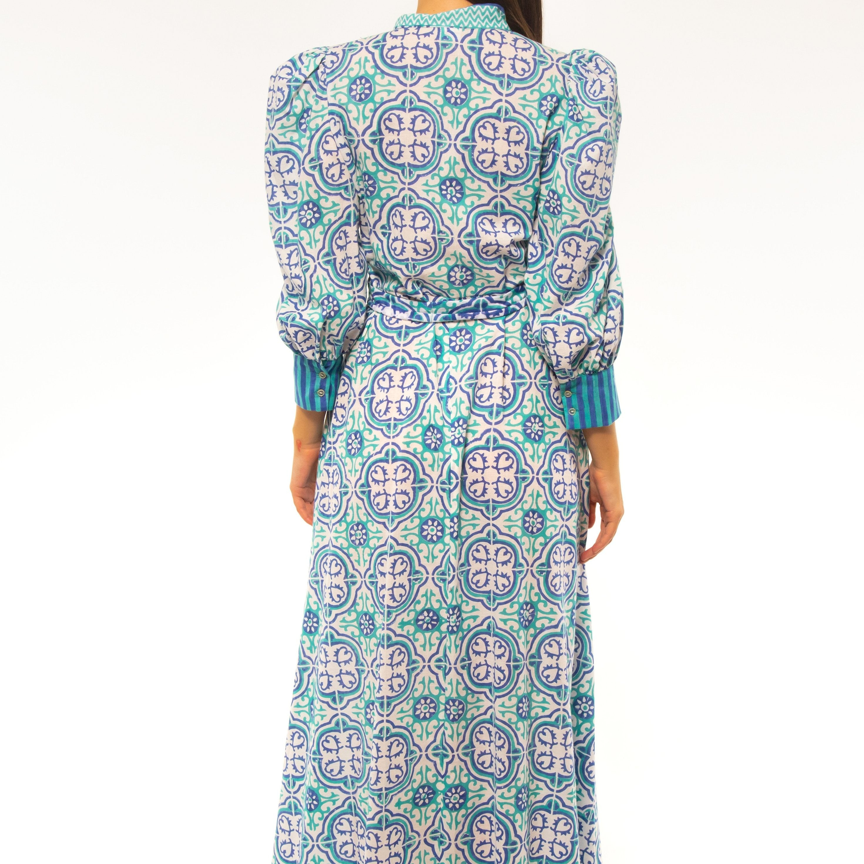 Regina Donde Button Up Maxi Dress