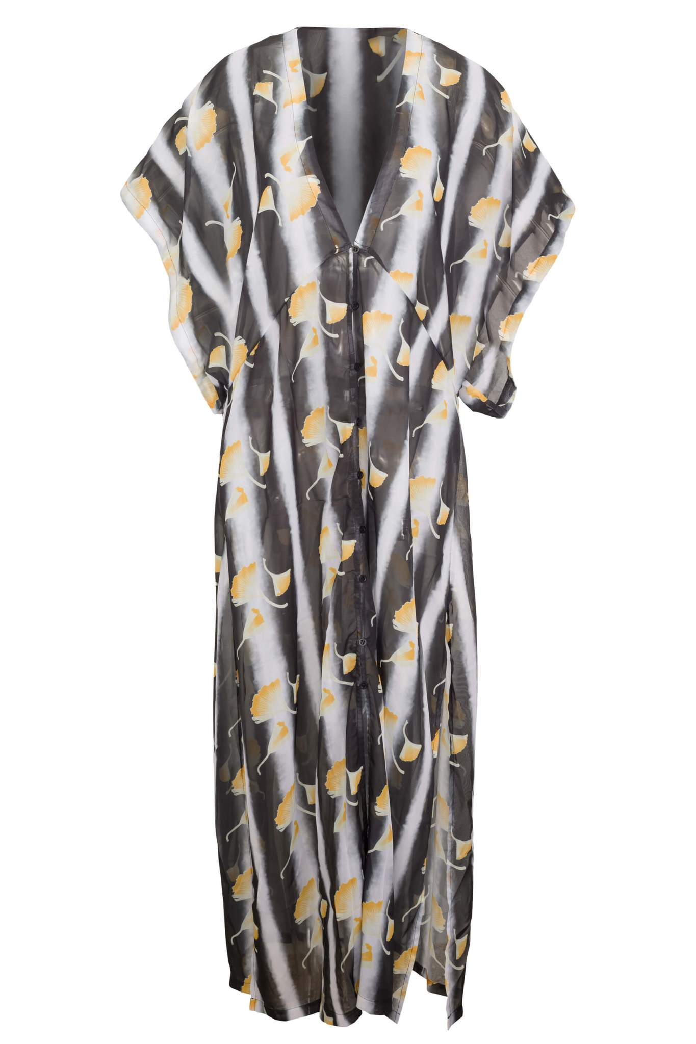 Sauipe Amber Close Kimono Long Cover Up