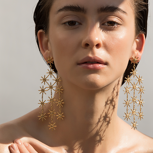 Sun Rain Earrings