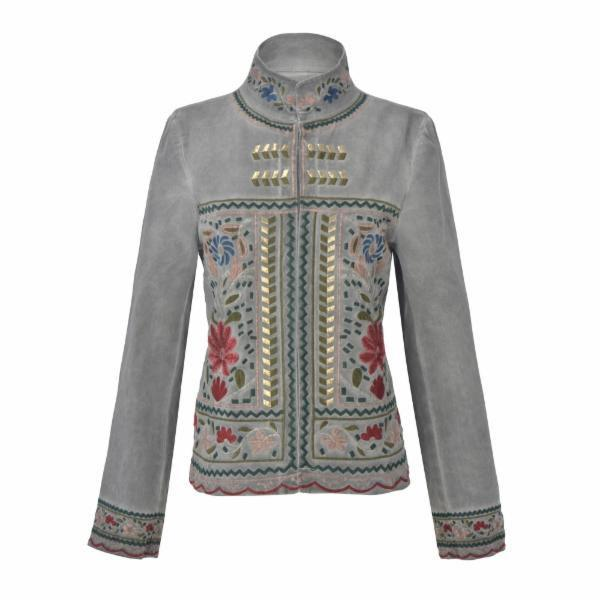 Guadalupe Svetlana Embroidered Jacket