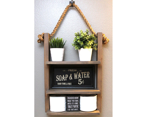 Hanging Bathroom Storage Shelf