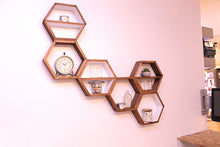 Hexagon Shelves - Set of 3