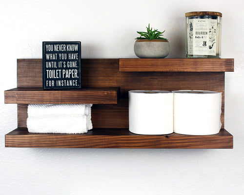 Bathroom Wall Mounted Storage Shelf