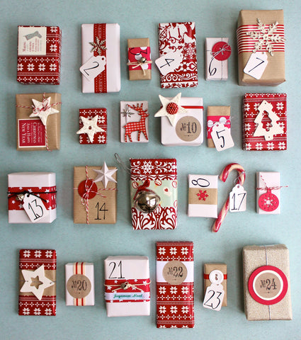 Christmas giveaway advent calendar