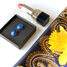 Load image into Gallery viewer, Navy Blue 12 mm Round Studs