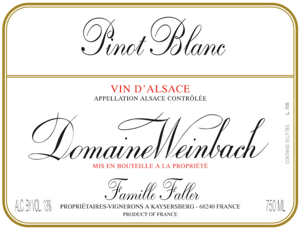 Domaine Weinbach, Alsace Pinot Blanc