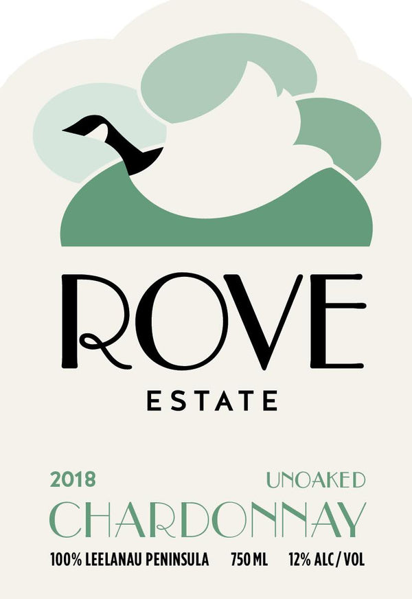 Rove Estate 2018 Unoaked Chardonnay