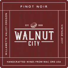 Walnut City Pinot Noir, Wilamette Valley (2018)