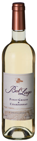 Bel Lago Pinot Grigio and Chardonnay  single