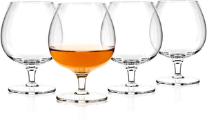 Luxbe Brandy & Cognac Crystal Glasses Snifter