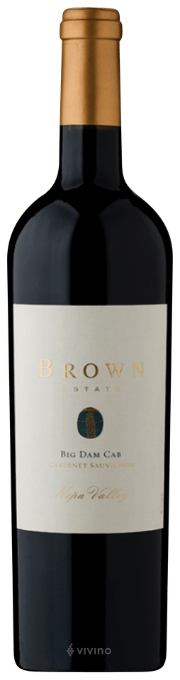 Brown Estate Big Dam Cab, Napa Valley, 2013