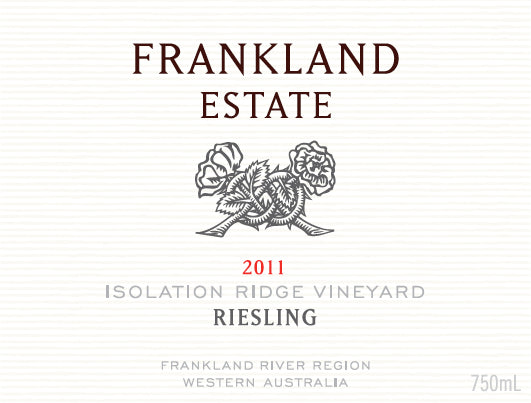 Frankland Estate, Frankland River Riesling Isolation Ridge Vineyard