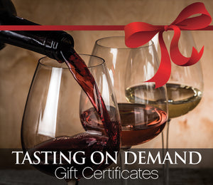 Tasting On-Demand Gift Certificate