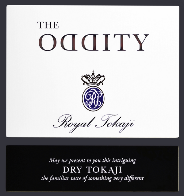 Royal Tokaji Furmint Oddity