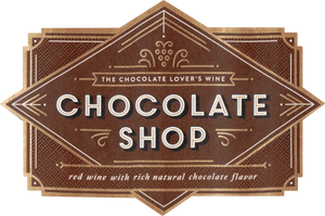 Chocolate Shop Red