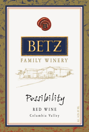 Betz Family Winery, Possibility Red Blend Columbia Valley