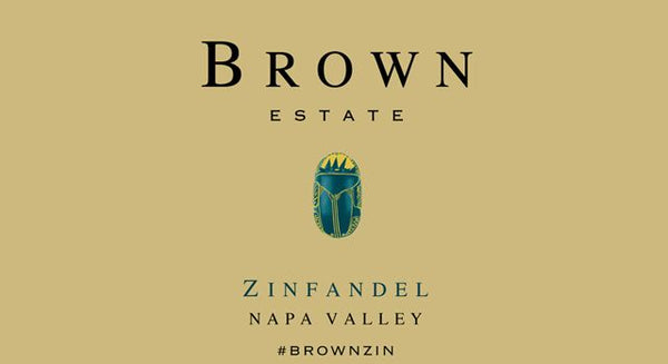 Brown Estates Napa Valley Zinfandel (2017)