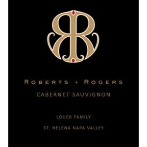 Roberts + Rogers, Cabernet Sauvignon Louer Family St. Helena