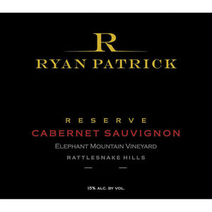 Ryan Patrick Vineyards, Rattlesnake Hills Cabernet Sauvignon Reserve Elephant Mountain Vineyard (2017)