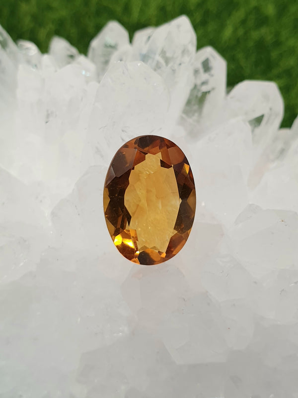 Citrine Gem 20mm x 13mm