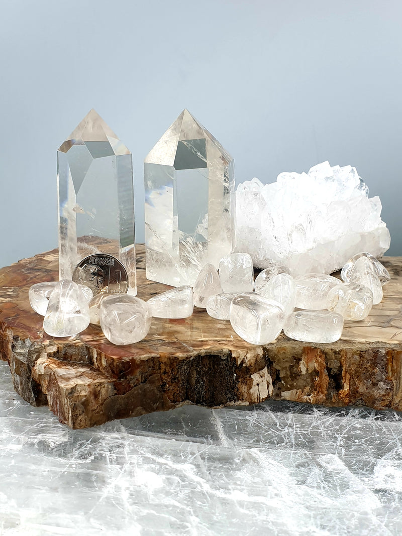 Clear Quartz Tower