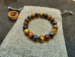 Multi Colored Tiger's Eye