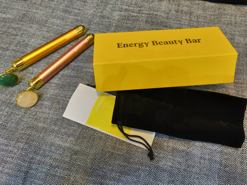 Crystal energy beauty bar facial massager