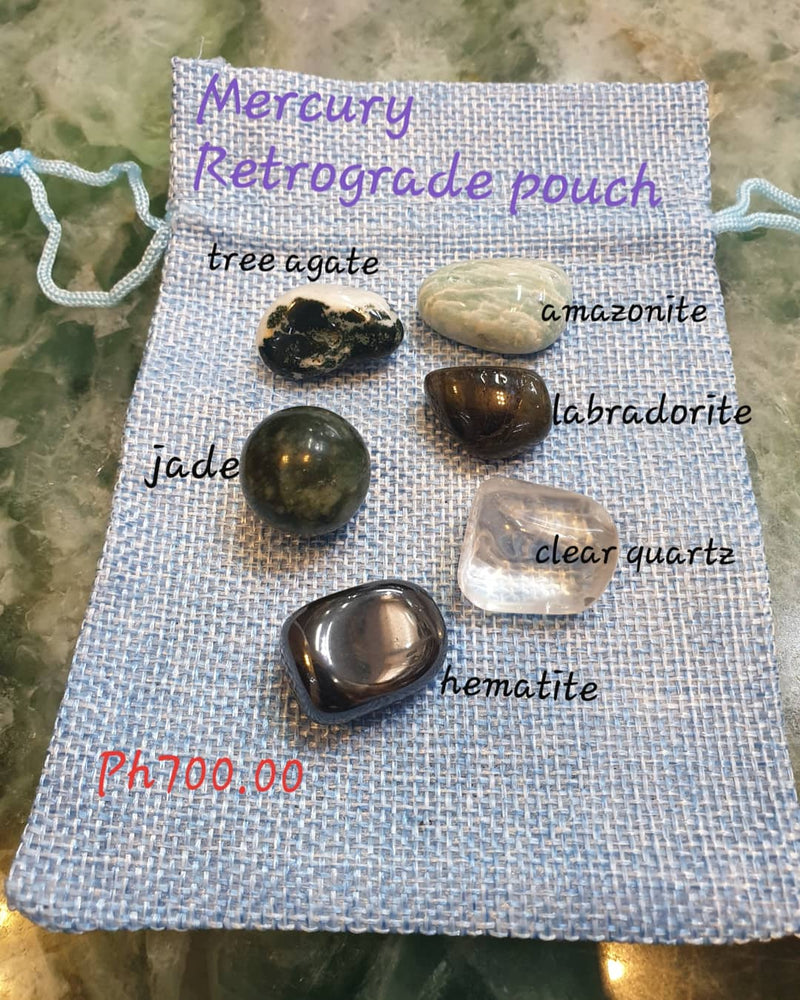 Mercury Retrograde Crystal set/Bracelet