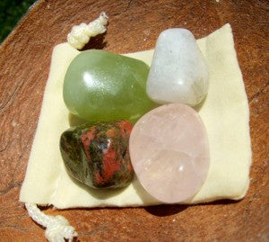 Fertility pouch crystal set