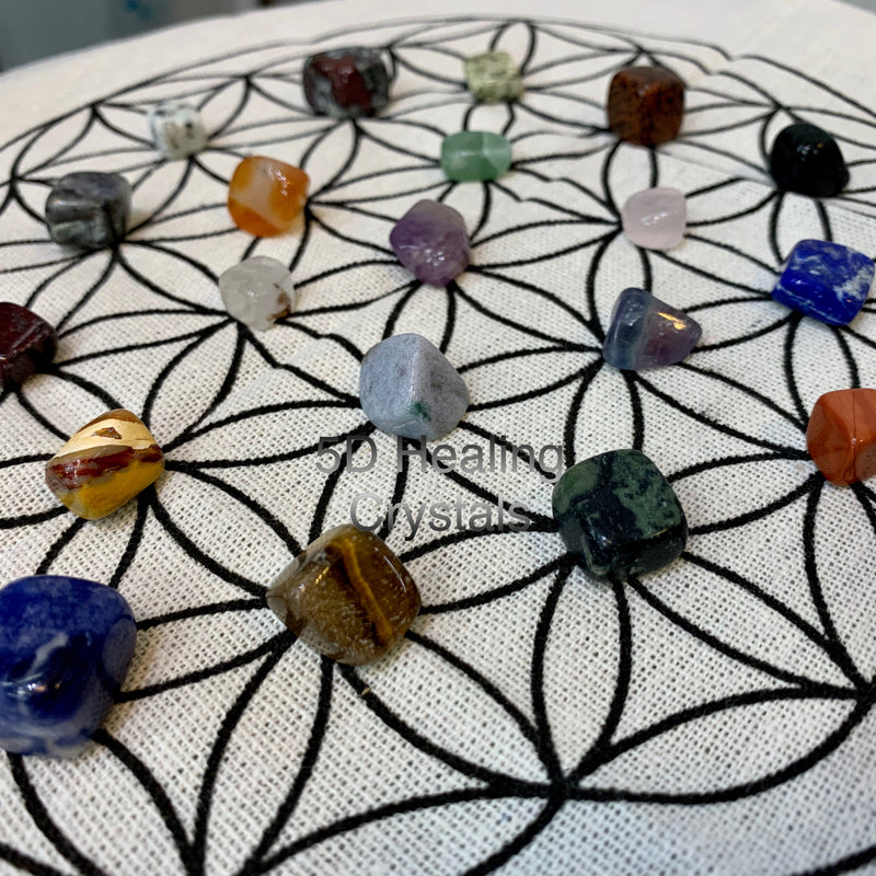 Crystal Collector's Intermediate Set 20 select crystals for holistic healing