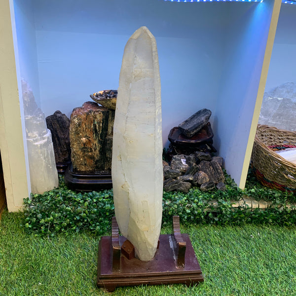 Huge Double terminated Himalayan quartz
