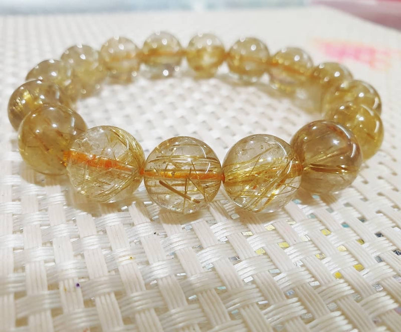 Golden Rutilated Quartz High Grade
