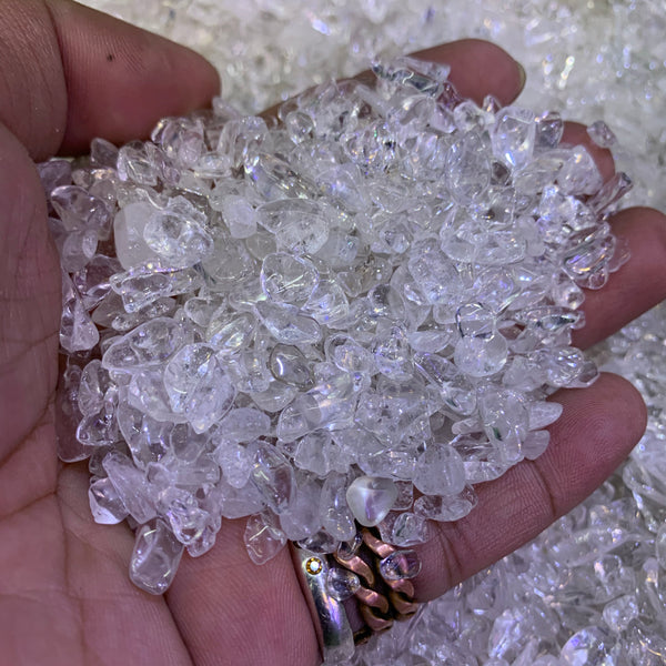 Clear Quartz chips