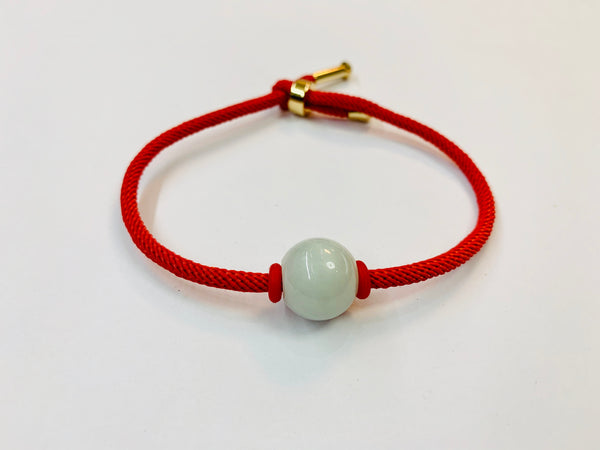 Red String With Jade