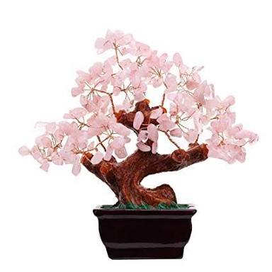 Rose Quartz Money Tree