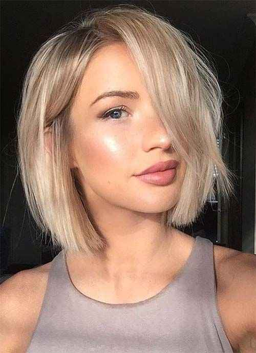 2019 NEW Hairstyle Popular Gorgeous Short Wig 002