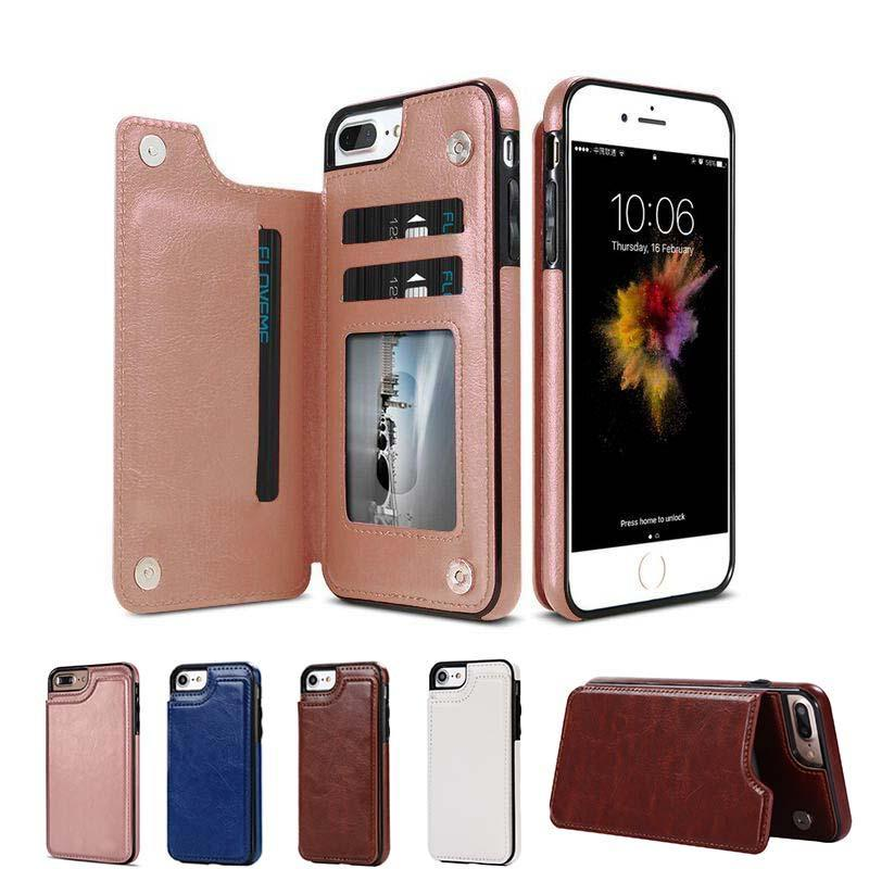 3 In 1 Luxury Leather Case For iPhone & Samsung