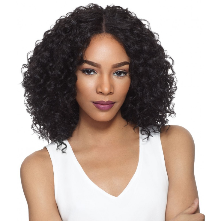 Front Lace Short Curly Bob Wig