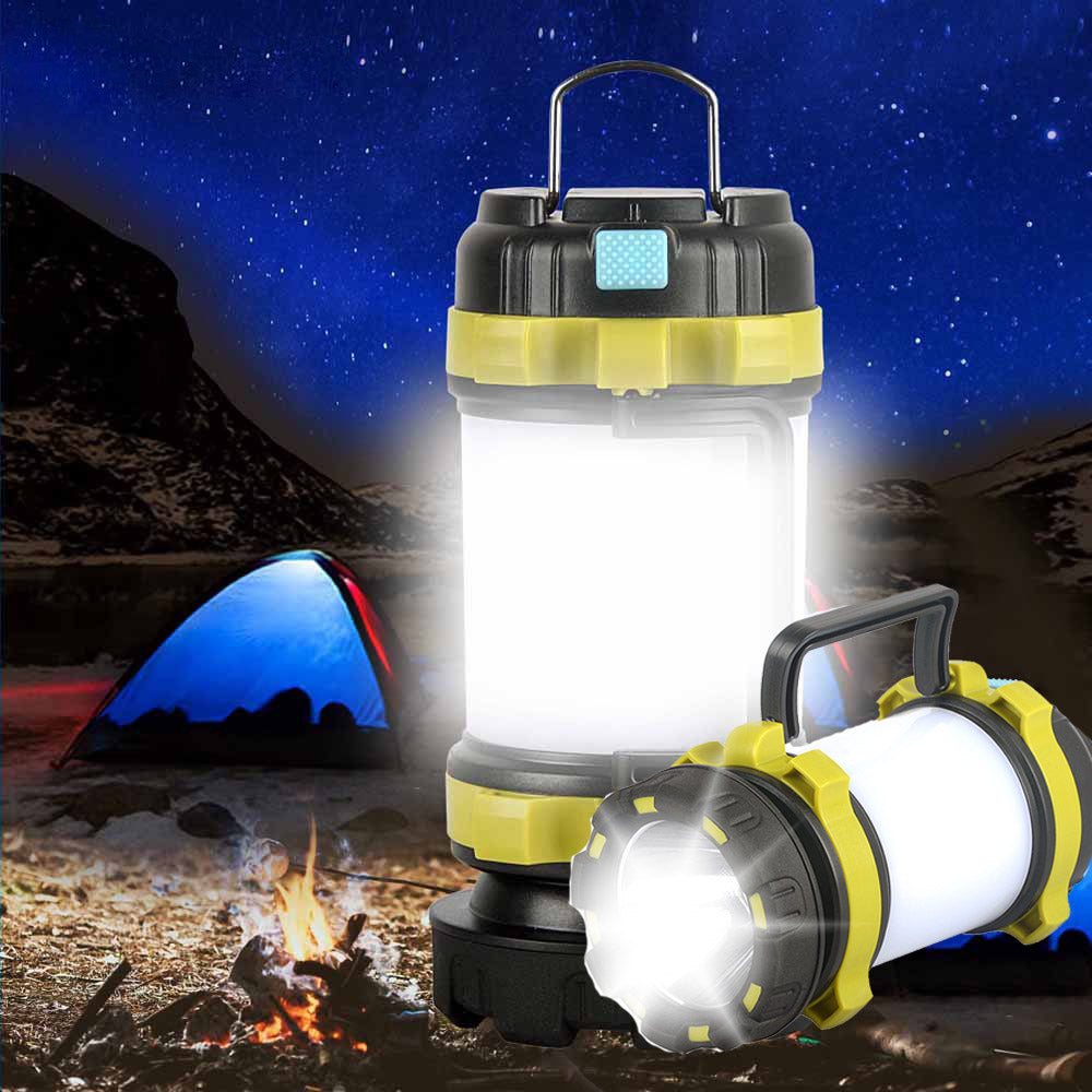 Camping Tent LED Lantern USB Rechargeable Camping Lights Flashlight