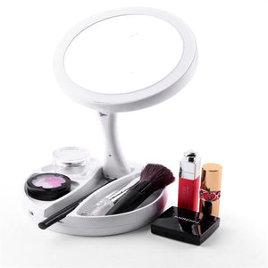 LED Folding Cosmetic Mirror