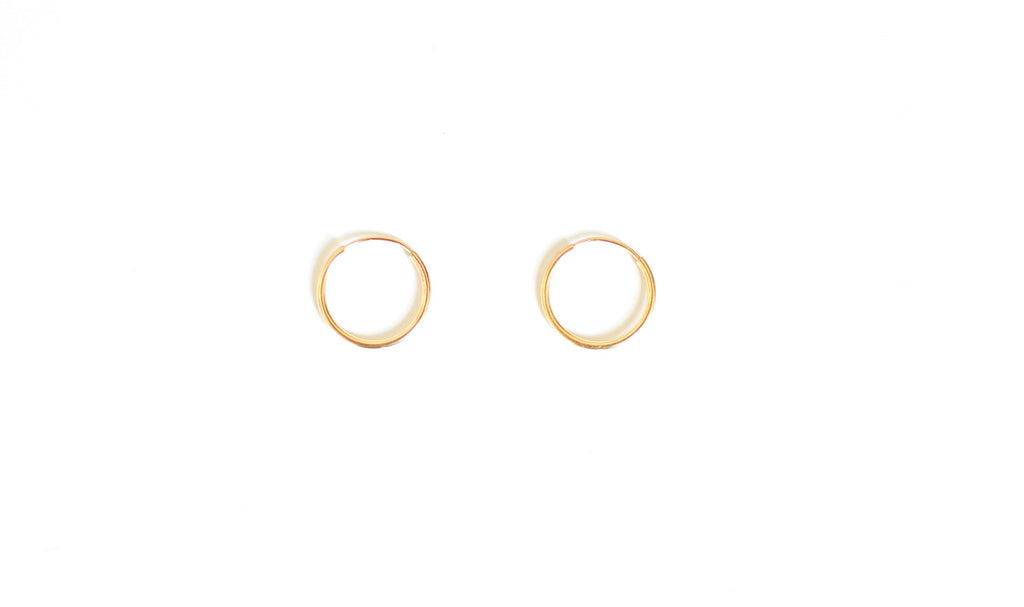 Small Gold Hoops (Delicate)