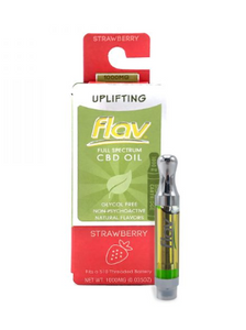 FlavRX STRAWBERRY CBD 1G – UPLIFTING