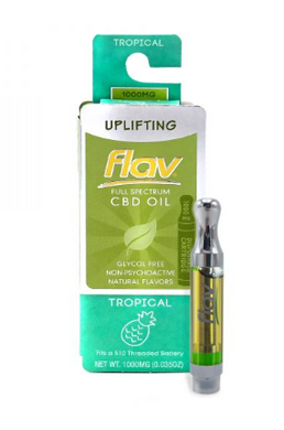 FlavRX TROPICAL CBD 1G – UPLIFTING